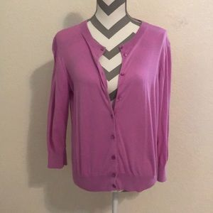 XL Cardigan light purple